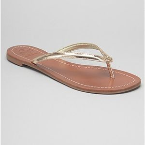 d927938f8d7 Tory Burch Shoes - NWT Tory Burch Terra thong sandals in Spark Gold
